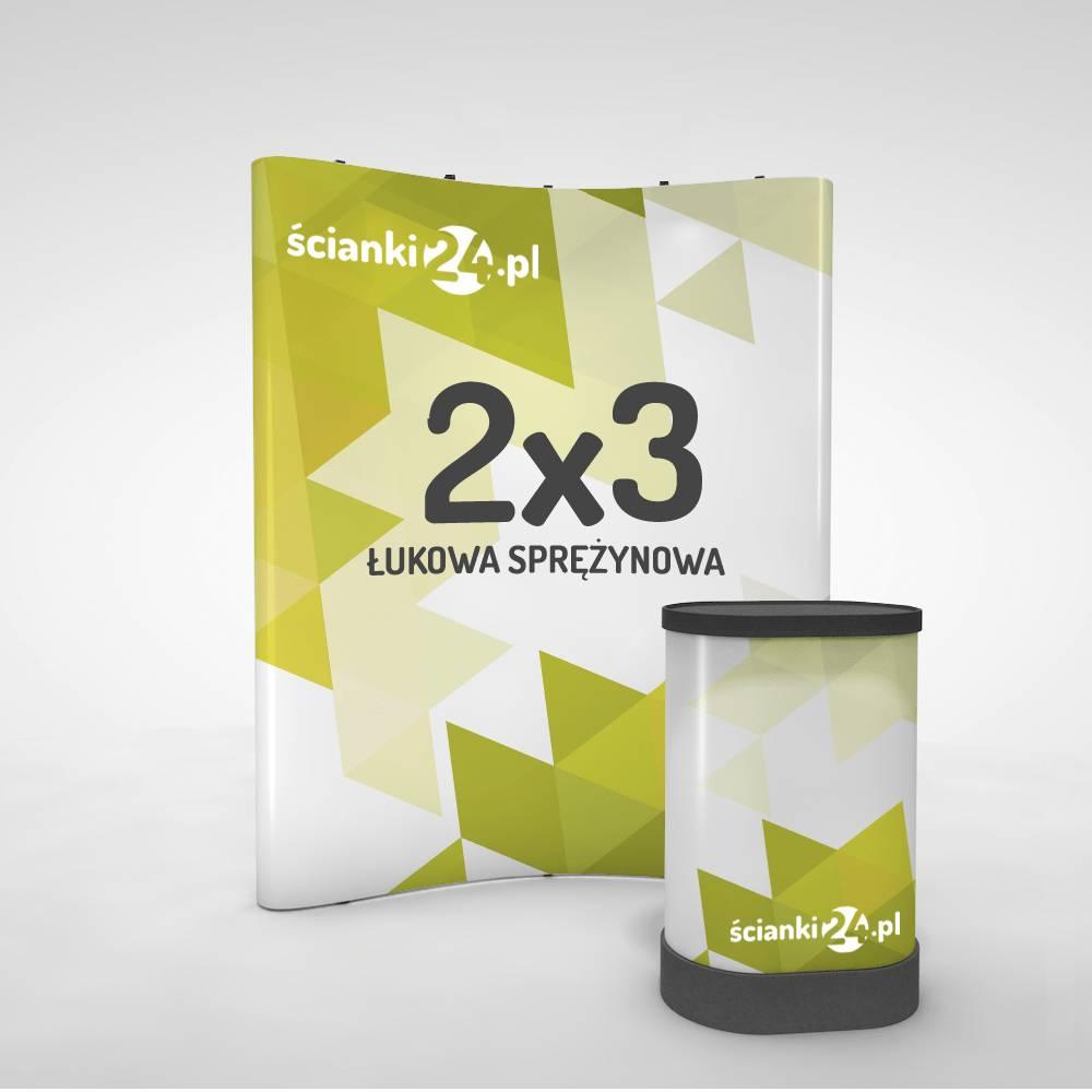 scianka reklamowa pop-up łukowa 2x32
