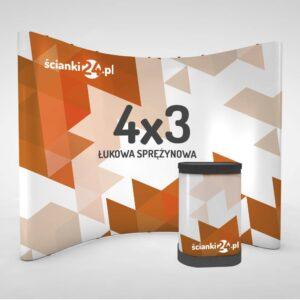scianka reklamowa pop-up łukowa 4x32